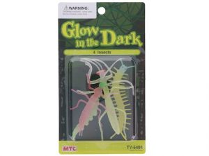 4 GLOW-IN-DARK INSECTS