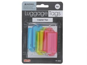 6PC LUGGAGE TAGS