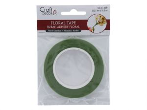 Floral Tape Leaf Green  XXX