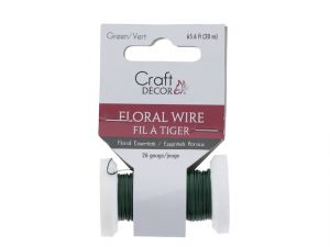 Floral Spool Wire 26g Green