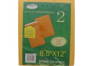BUBBLE ENVELOPES 8.5X12 IN