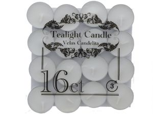 16PC TEALIGHT CANDLE
