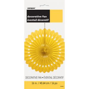 YELLOW DECORATIVE FANS