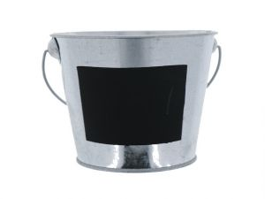 METAL PAIL BUCKET 7IN