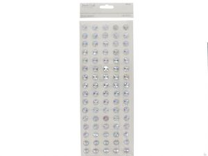 STONE STICKERS 12 CLEAR