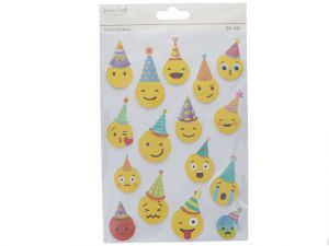 HAPPY BIRTHDAY EMOJI 3D STICKERS