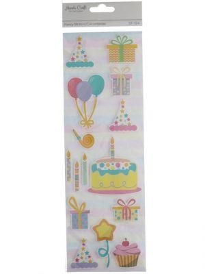 HAPPY BIRTHDAY STICKER XXX