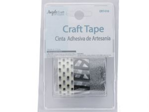 Crafting Tape-Clear BlkClear Wht  XXX