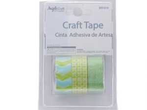 Crafting Tape-Green White  XXX
