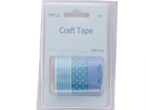 Crafting Tape-Clear RedClear Wht  XXX