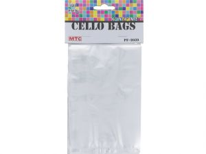 60 MINI TRANSPARENT CELLO BAGS
