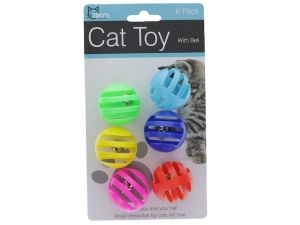 CAT TOY WITH BELL