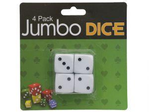 JUMBO DICE 4 PK XXX