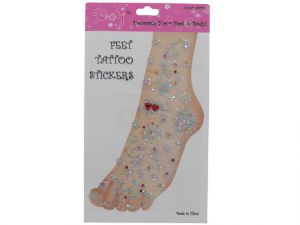 FOOT STICKERS