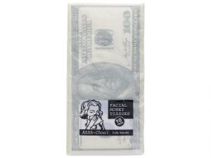 FACIAL MONEY TISSUES