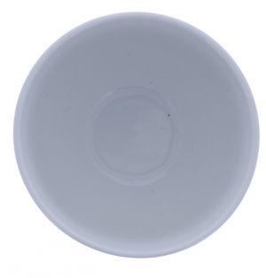 WHITE CERAMIC SOUP BOWL 5 INCH