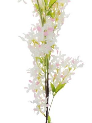 ARTIFICIAL WHITE PINK FLOWER