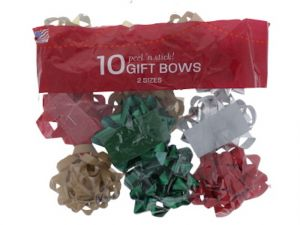 GIFT BOWS 10PC