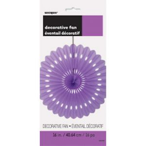 LAVENDER DECORATIVE FAN