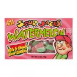 SOUR JACKS WATERMELON SOUR CANDY 3.5Z