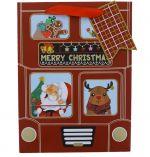 MERRY CHRISTMAS SMALL GIFT BAG