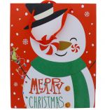 SNOWMAN CHRISTMAS XL GIFT BAG