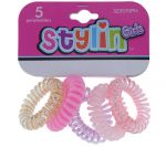 SOLID COIL PONYHOLDERS 5 PACK