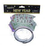 HAPPY NEW YEAR TIARA 4 PC