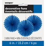 ROAYL BLUE DECOR FAN