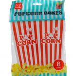 POPCORN BOXES 8 COUNT