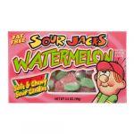 SOUR JACKS WATERMELON SOUR CANDY 3.5Z
