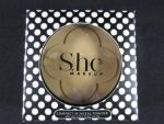 SHE COSMETICS PRESS POWDER DARK BEIGE