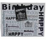 HAPPY BIRTHDAY GIFT BAG MEDIUM SIZE