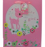 BABY GIRL LARGE GIFT BAG