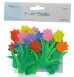 FOAM TULIPS SHAPES 10 PC