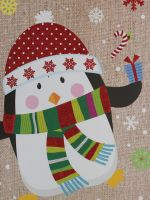 PENGUIN CHRISTMAS LARGE BAG