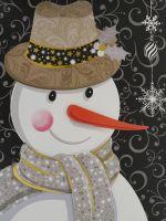 SNOWMAN CHRISTMAS LARGE BAG