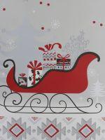 SLEIGH CHRISTMAS BAG LARGE