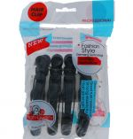 SALON HAIR CLIPS 4 PACK