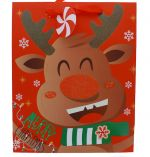REINDEER MEDIUM GIFT BAG