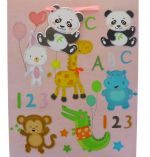 ABC 123 BABY LARGE GIFT BAG