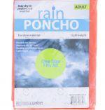 RAIN PANCHO ADULT SIZE