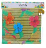LETS PARTY TABEL RUNNER WITH TASSELS 12 X 60 INCH