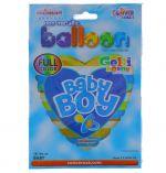BABY BOY PACIFIER NON FOIL BALLOON 18 INCH