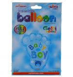 ITS A BOY FOOT NON FOIL BALLOON 18 INCH