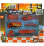 CITY AND TRAFFIC PLAY SET 6 PACK