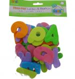 FOAM FUN LETTERS AND NUMBERS 3D 36 PACK