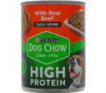 DOG CHOW HIGH PROTEIN 13 OZ