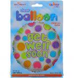 GET WELL SOON NON-FOIL BALLOON