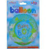 BABY BOY NON-FOIL BALLOON